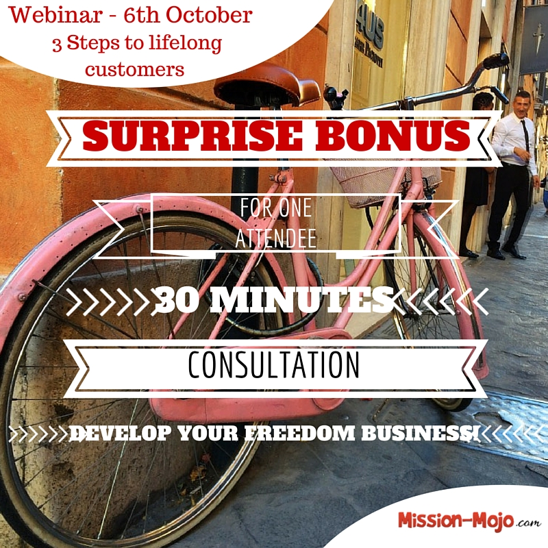Surprise webinar bonus